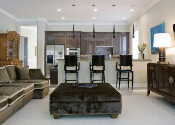Solutions for available space in the living room