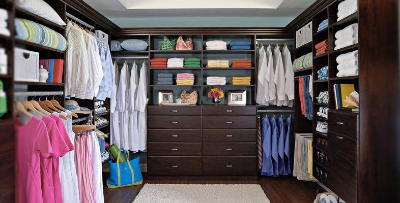 No closet storage