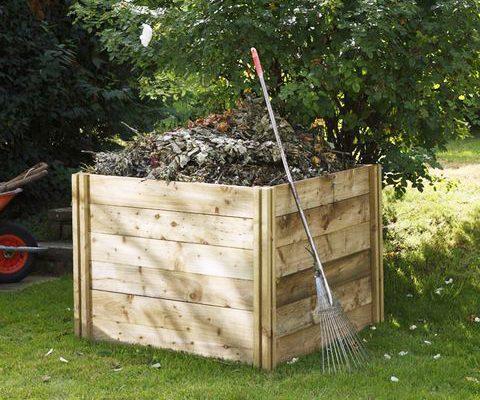 composter, garden, home