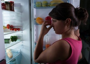 Bad odours in the fridge