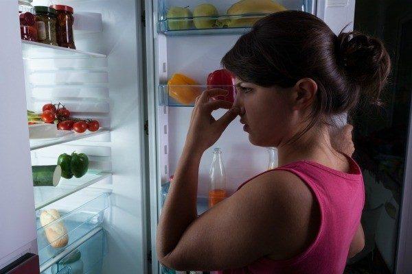 Bad odours in the fridge