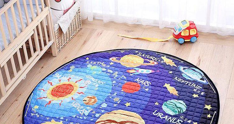 children's room, playground at home