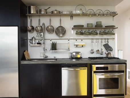 storing utensils