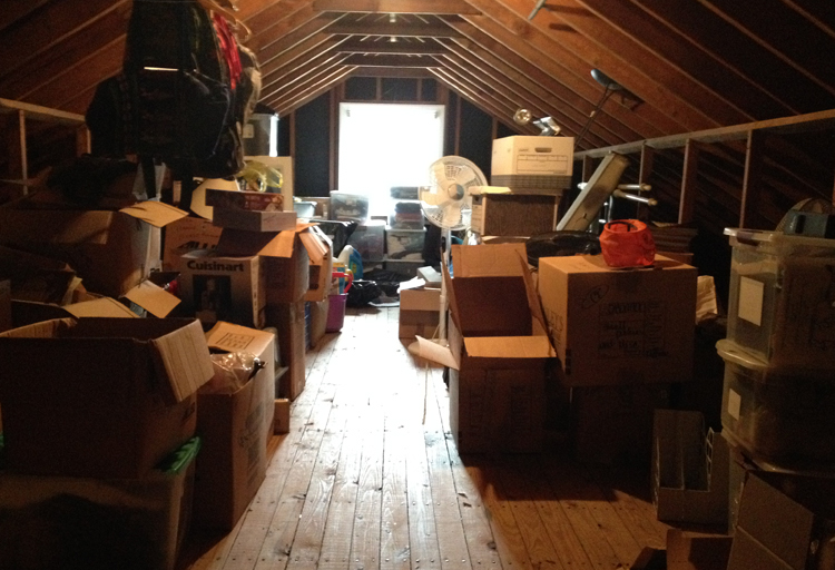 The Wrong Items For Storing In The Attic Home Blogger Com