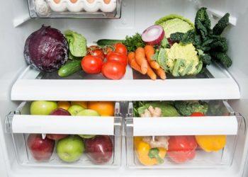 storing fruit and veggies