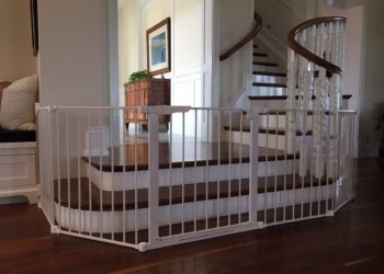 baby-proof staircase