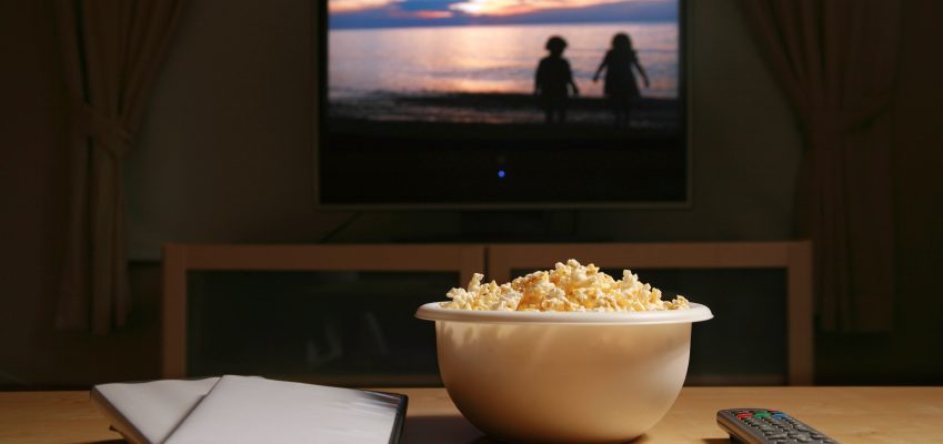 how to plan a movie night at home