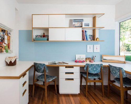 home study area for kids