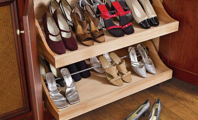 shoe storing