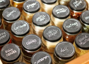 storing spices